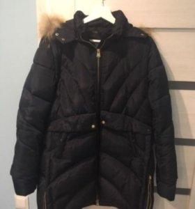Куртка пуховик б/у размер L