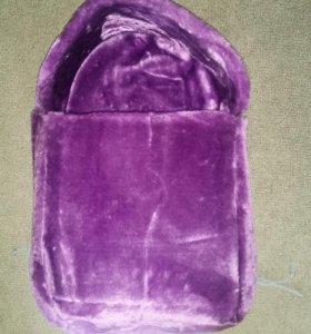 Новая меховая подкладка для санок