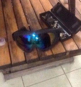 Очки горнолыжные/мотокроссовые