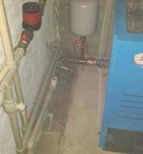 Монтаж любых систем отопления в частных домах.