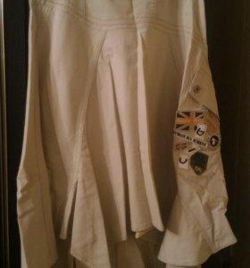 Стильная юбка 46 размер