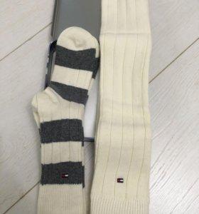 Tommy Hilfinger новый комплект носки-гетры шерсть