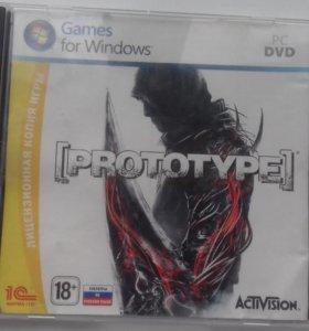 Диск игры Prototype1