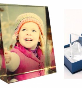 Изготавливаем кристалл с фото формы Призма