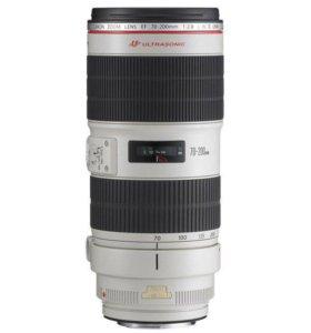 Объектив премиум Canon EF 70-200mm f/2.8 L USM