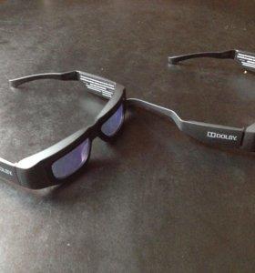 3D очки.2 штуки