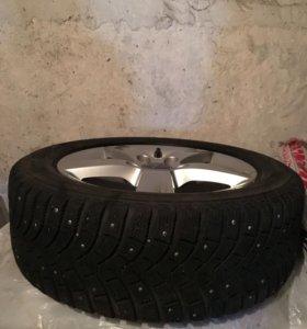 Комплект оригинальных зимних колёс для Ауди А3