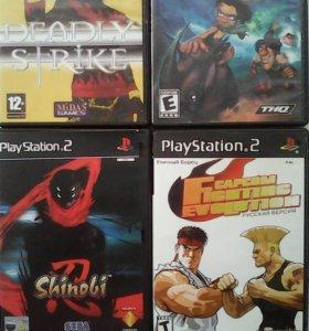 Игры на сони PS 2
