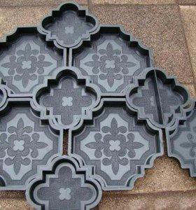 Формы тротуарной плитки