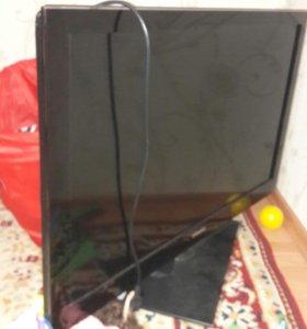 Телевизор. разбитый экран
