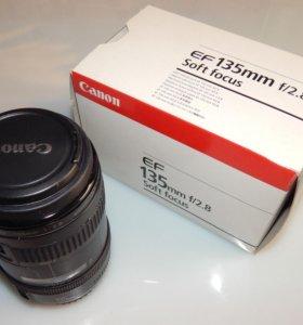 Объектив Canon EF 135mm f/2.8 with Softfocus