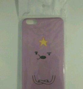 Пластиковый бампер для iPhone 6 plus