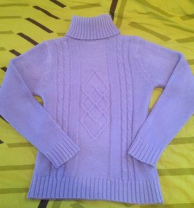 Вязаный свитер 44-46 р.
