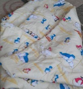 Одеяло с пододеяльником