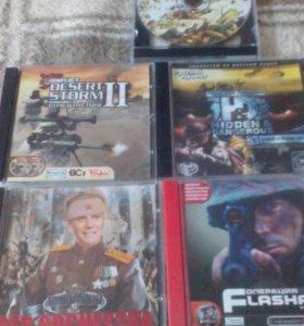 Игры на CD стрелялки