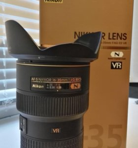 Nikon 16-35mm f/4G ED AF-S VR