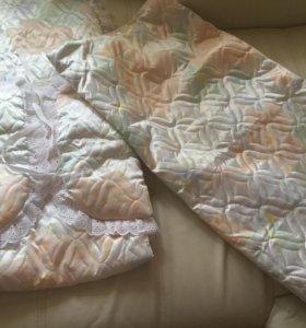 Конверт в коляску+ одеяло.Новый