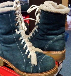 Зимние ботинки фирмы inario