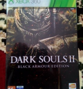 Dark Souls 2 black armour edition(xbox 360)