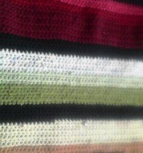 Вязанные дорожки,коврики