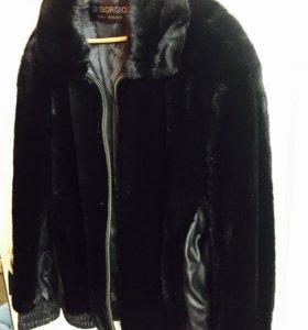 Куртка норковая мужская.