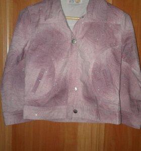 Курточка джинцовая