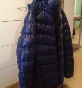 Мужская куртка, темно-синего цвета р.50