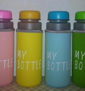 Разноцветные чехлы для My Bottle