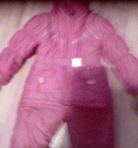 Продается зимний костюм на девочку 3-5л