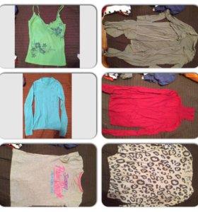 футболки, кофты и рубашки