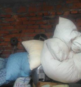 Перины и подушки