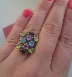 Комплект кольцо,  серьги