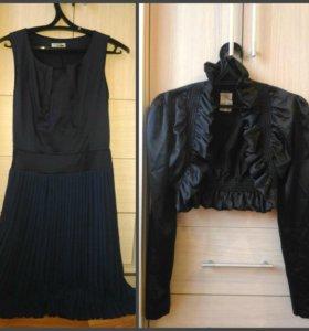 Классическое платье и болеро