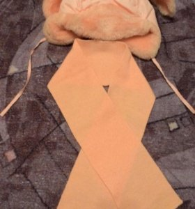 Шапка+шарф (Зима).