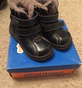 Зимние ботинки Антилопа