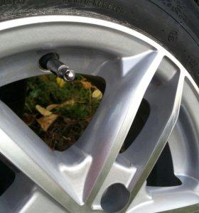 Колеса в сборе, комплект, диски шины.