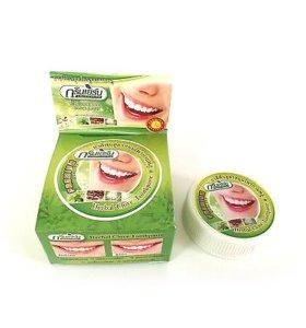 """Отбеливающая тайская зубная паста """"Зеленые травы"""""""