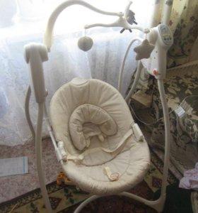 Элетрокачеля для ребеночка