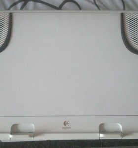 Ноутбук колонки подставка