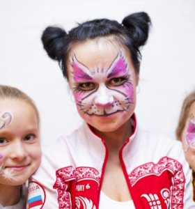 Аква грим на детский праздник