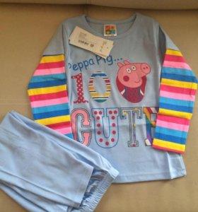 Пижамы новые в упаковке 104,110,116, 122,128,134.