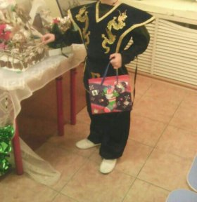 Детский праздничный кастюм самурай
