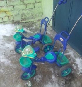 Продаются велосипеды детские трехколесные
