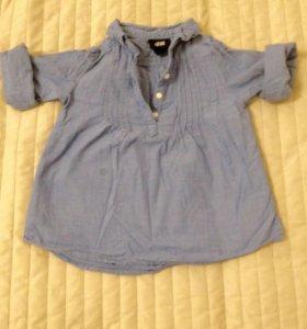 Рубашка (туника) H&M. Рост 86