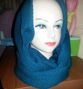 Вязаный снуд(шарф)