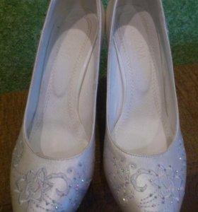 Туфли свадебные (праздничные)
