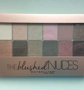 Тени maybelline the blushed nudes