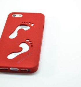 Чехол - накладка Силикон бархат  Iphone 5/5s 6/6s