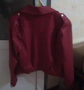 Куртка кожаная- косуха