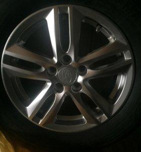 Колёса на Subaru